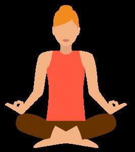Yoga Class Ettiquette Icon