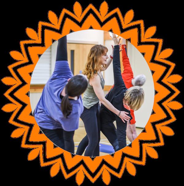 Toward yoga Adjusting Trik Circle