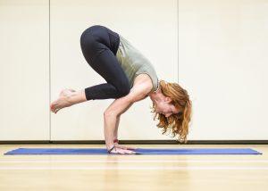 Toward Yoga Bakasana