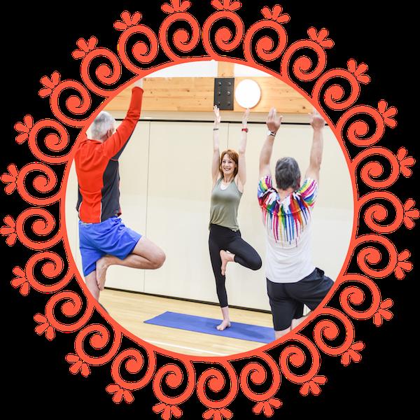 Toward Yoga Multi Vrksasana Circle